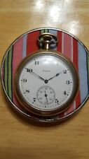 1920 Antique ELGIN USA Mechanical Pocket Watch 12S Grade 303