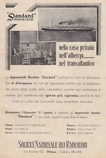 Z5396 Apparecchi Sanitari Standard - Pubblicità d'epoca - 1933 old advertising