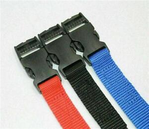 "Adjustable Webbing Belt  20mm ( 3/4"" ) Quick Release"
