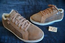 UGG AUSTRALIA ROXFORD BOMBER TWIN FACE SNEAKERS, Mens: US 10.5, Color: BJCE,