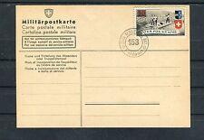 Schweiz Militärpostkarte Soldatenmarke Ter.Füs.Kp.III/153 - b3136