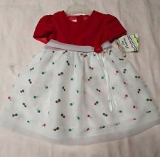 La princess dress red and floral 4t