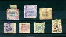Liverpool Cotton Clearing House Revenue   Stamps  (7)     (J234)