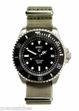MWC 300m Stainless Steel Quartz Submariners/Divers Watch