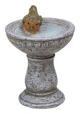 Miniature World Robin Birdbath