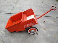 New Listing1960'S Orange Murray Dump Trac Pull Trailer Wagon