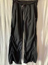 Lululemon Women's Black Unlined Dance Studio Pants Size 8 Regular Athletic Wear