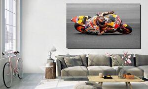 Canvas Wall Art - Marc Marquez