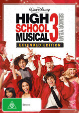 High School Musical 3: Senior Year * NEW DVD * Zac Efron Vanessa Hudgens