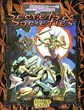 SWORD & SORCERY-Secrets & Societies-SCARRED LANDS-Sourcebook-RPG-new-very rare