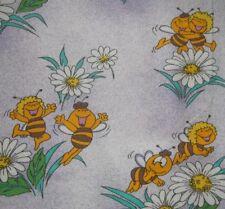 Biene Maja Kinder Bettwäsche Bedding Duvet Fabric Figur 80s Maya Bee Maia Housse