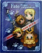 Fate Stay Night Screen Wiper Phone Strap Set Licensed NEW