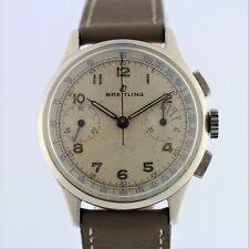 BREITLING Cadette Offizier Chronograph 1189 Military Venus 188 Vintage 1950
