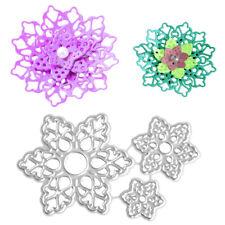 3D Layers Flower Petal Metal Cutting Dies Scrapbooking Photo Album Cards Making