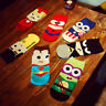 Men Marvel Heros Boat Socks Superman Batman Captain Funny Cotton Happy Socks
