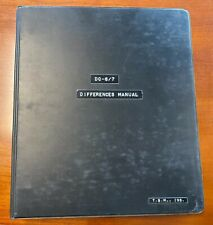 New listing Overseas National Airways Differences Manual for Douglas Dc 6/7