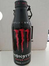 MONSTER SUPER COLA SODA ENERGY DRINK ZERO 500ml BOTTIGLIA IN LATTA