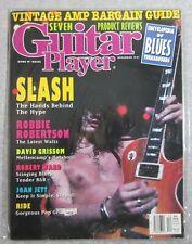 GUITAR PLAYER MAGAZINE 1991 DECEMBER SLASH GUNS ROSES JOAN JETT GRISSON GIBSON