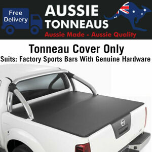 Aussie Tonneaus Clip On Tonneau Cover for Nissan Navar D40 Dual Cab Replacement