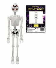 NEW LARGE INFLATABLE SKELETON FIGURE SPOOKY SCARY HALLOWEEN TOY 183CM HB