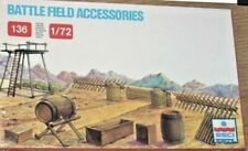 ESCI Battlefield Accessories New Sealed Box 1/72