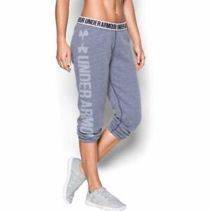 Women's Under Armour Favortie Fleece Capri jogger pants (1295095-411)