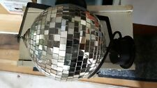 1960s Mirrored Mosaic Disco Ball Electric