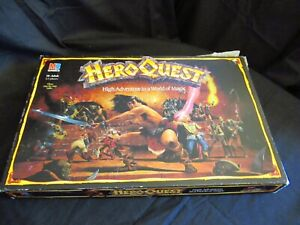 Heroquest board Game Complete Dungeons and Dragons
