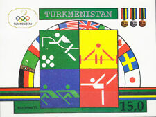 W TURKMENISTAN 23 BARCELONA OLYMPIC SOUVENIR SHEET