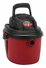 Shop-Vac 2036000 2.5-Gallon 2.5 Peak HP Wet Dry Vacuum, Small, Red/Black