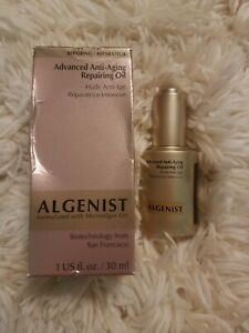 ALGENIST Advanced Anti-Aging Repairing Oil (1 oz / 30 ml) New with Box