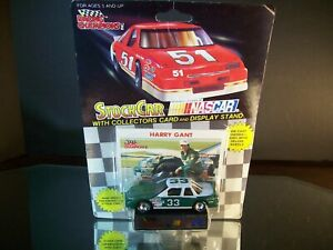 Harry Gant #33 Generic Skoal Petty Back 1991 Oldsmobile Cutlass Supreme W/Straps