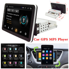 10.1in 1DIN Android 9.1 Car Bluetooth Stereo Radio FM MP5 Player GPS Navigation