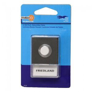 Friedland Lit D723 Pushbutton Pushlite - Nameholder