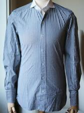 TOM FORD STRIPED SLIM FIT COTTON SHIRT EU 38 UK/US 15