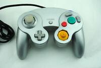 Manette officielle d'origine pour Nintendo GameCube GC silver (argentée)
