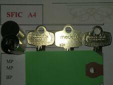 MEDECO 7 Pin SFIC K KEYWAY 2 OPT KEYS, 1 CTRL KEY - Locksport