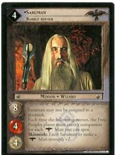 Lord Of The Rings CCG Card TTT 4.R33 Saruman, Rabble-Rouser
