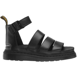 Dr.Martens Clarissa II Leather Casual Ankle-Strap Womens Sandals