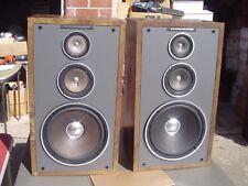 Marantz DS-602 Early 80's 3-Way Large Box Stereo Speakers Refurbished USA