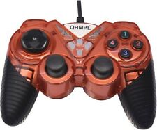 Quantum QHM 7487-2V USB Game Pad Joystick 2 Way Vibration Shock & Turbo Function