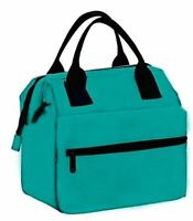 Earthwise Insulated Lunch Bag Box for Men & Women Heavy Duty Oxford Nylon
