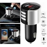 Wireless Bluetooth Car USB Charger FM Transmitter Wireless Radio Adapter Cigar
