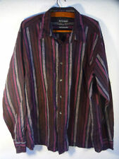 Marks and Spencer Men's Fitted Striped Casual Shirts & Tops