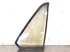 86-90 Legend 4Dr Sedan Right Rear Door Quarter Vent Glass Triangle Window OEM