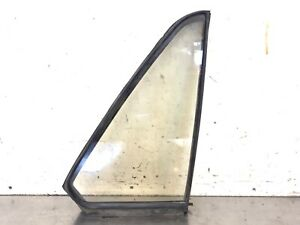 86-90 Legend 4Dr Sedan Right Rear Door Quarter Vent Glass Triangle Window OEM