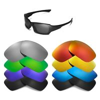 Walleva Replacement Lenses for Oakley Fives Squared Sunglasses -Multiple Options