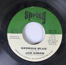 Soul 45 Joe Simon - Georgia Blue / All My Hard Times On Spring