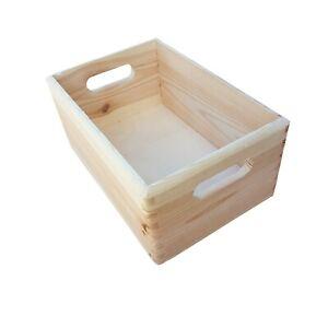 Wooden Serving Tray or Box  30 cm x 20 cm x 13 cm