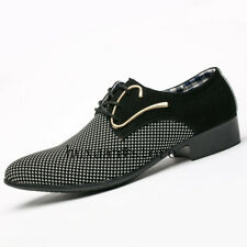 Spring New Business Men's Dress Shoes Patchwork Hairstylis Comfortable Wedding